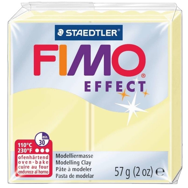 Korting Staedtler Fimo Effect Modelleerklei 57 Gram Pastel Vanille