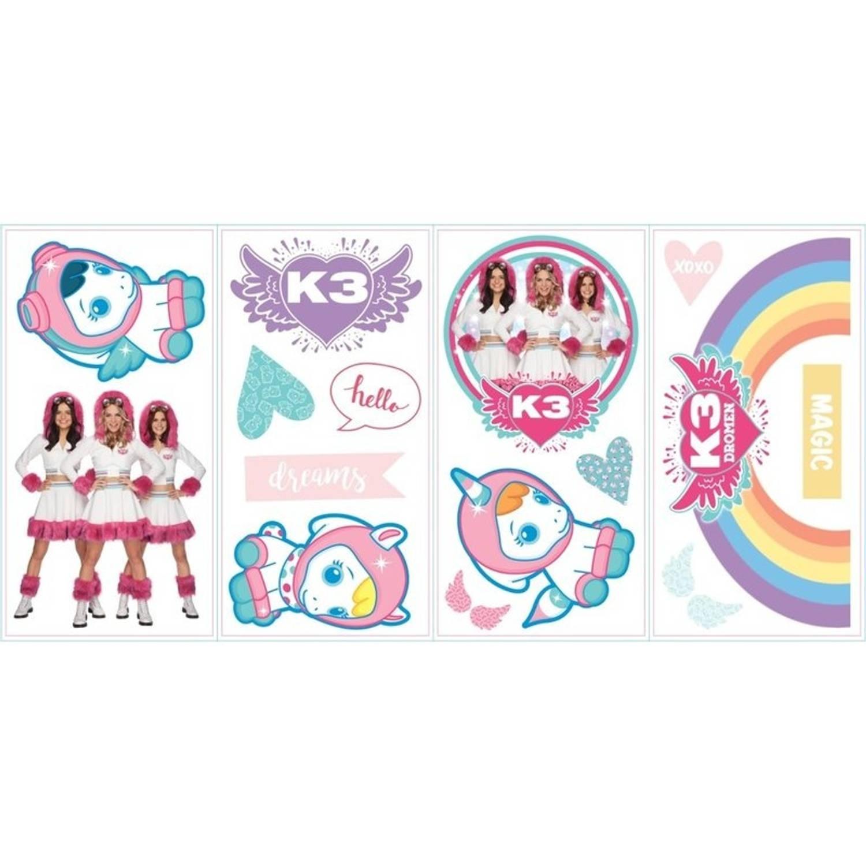 Studio 100 Muurstickers K3 Dromen 16 Stickers