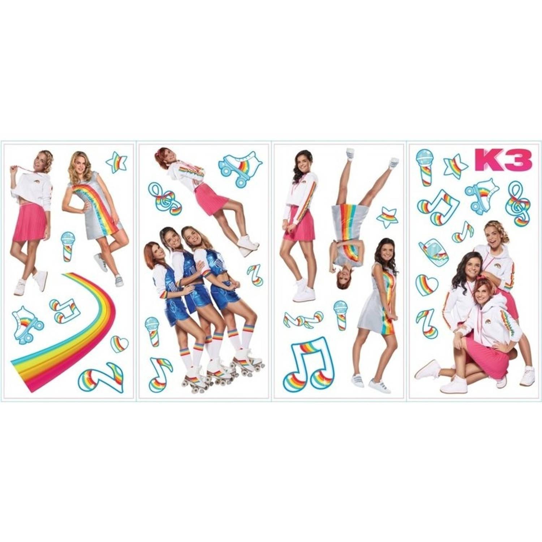 Studio 100 Muurstickers K3 Muziek 34 Stickers