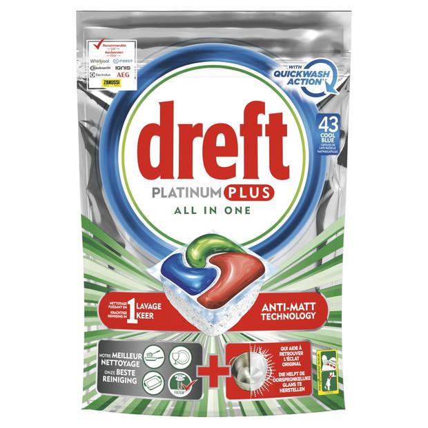 Dreft Platinum Plus Vaatwascapsules 43 Stuks