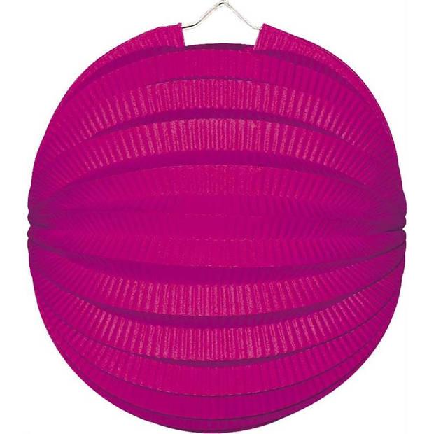 Haza Original lampion 23 cm roze