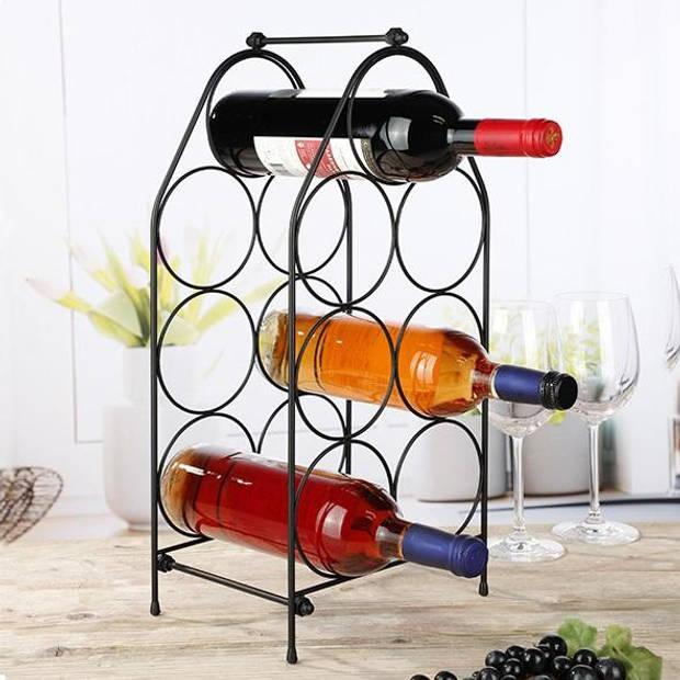 Haushalt - Wijnrek voor 7 flessen