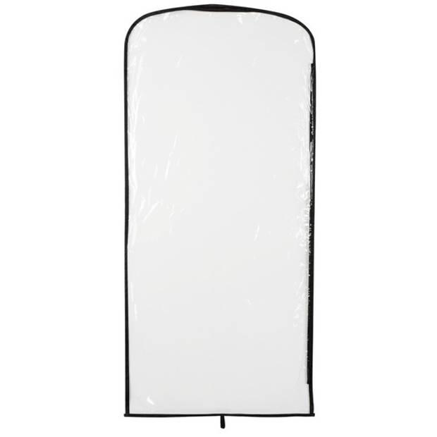 Kleding opberghoes transparant 95 x 42 cm - kleding opbergen