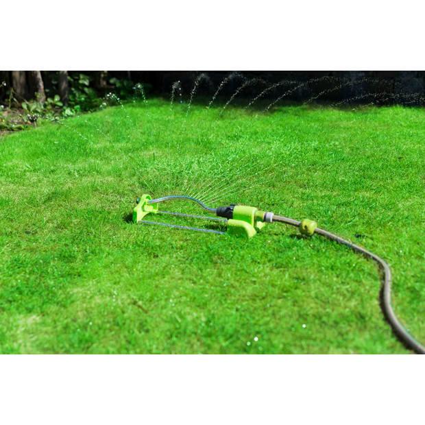 Kinzo Garden tuinsproeier - roterend - 18 gaatjes - bereik: 200m2