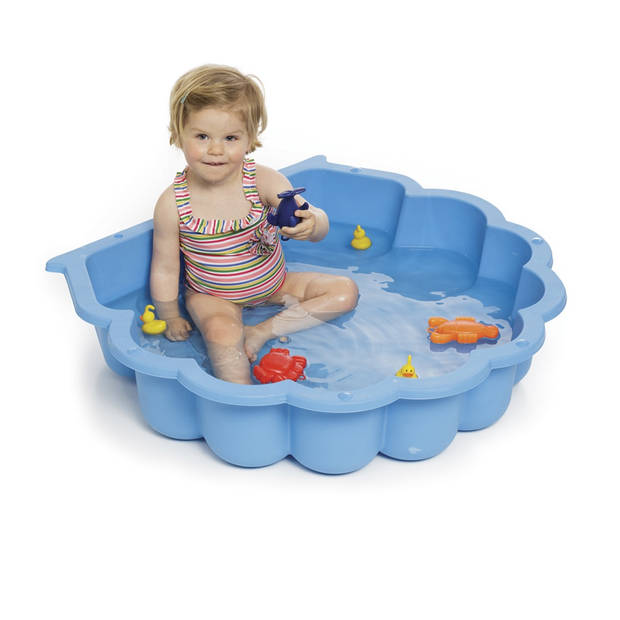 Paradiso Toys zandbak schelp blauw 87 x 78 cm