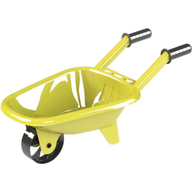 Free and Easy kruiwagen 61 x 30 x 17 cm geel