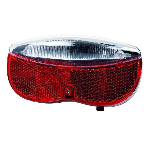 Simson achterlicht Regular led batterij rood