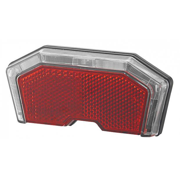 Union achterlicht E-bike led accu rood