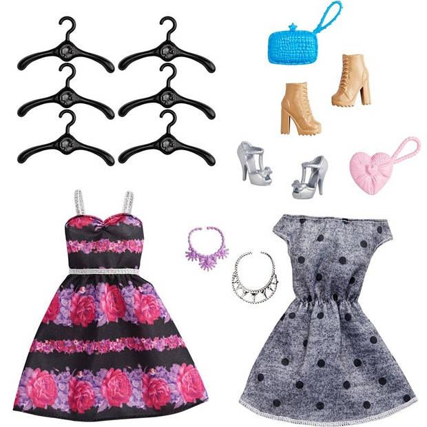Barbie ultieme kledingkast met accessoires roze