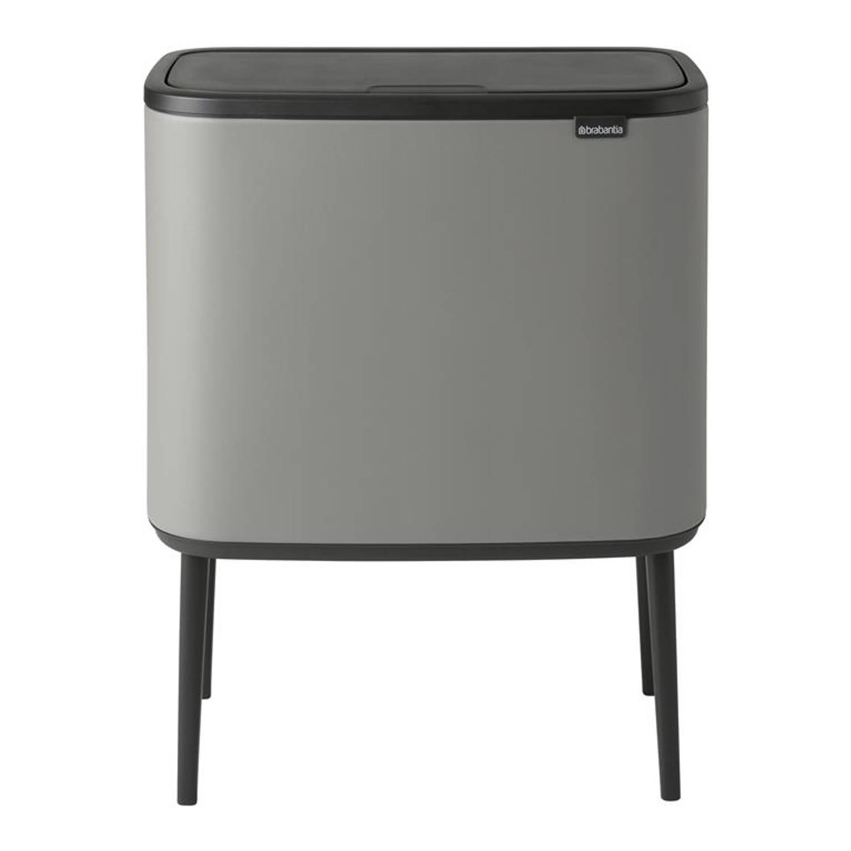 Brabantia - Bo Touch Bin 3 X 11 L Mineral C Grey