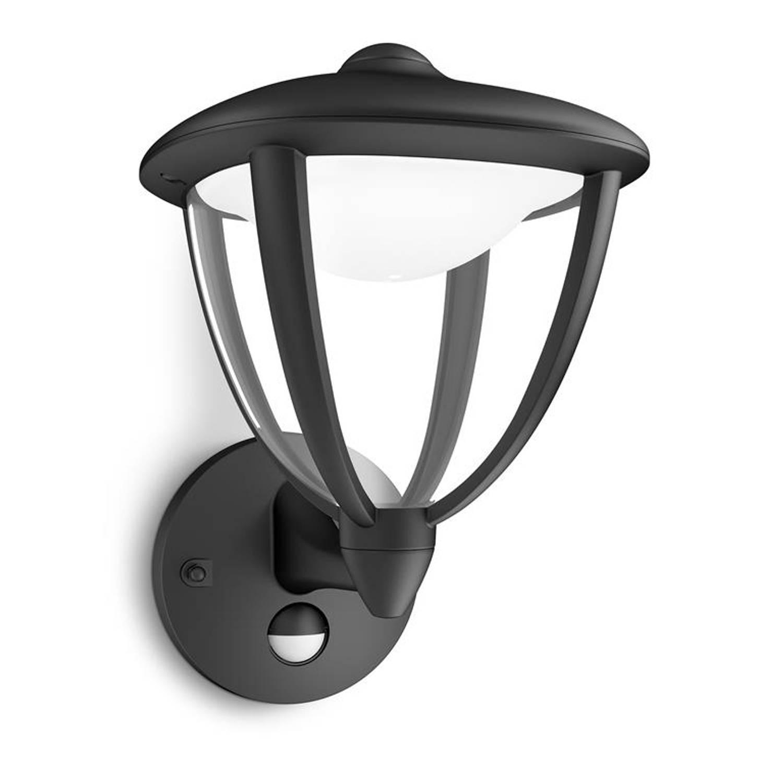 Philips - Mygarden Robin Wandlamp - Zwart