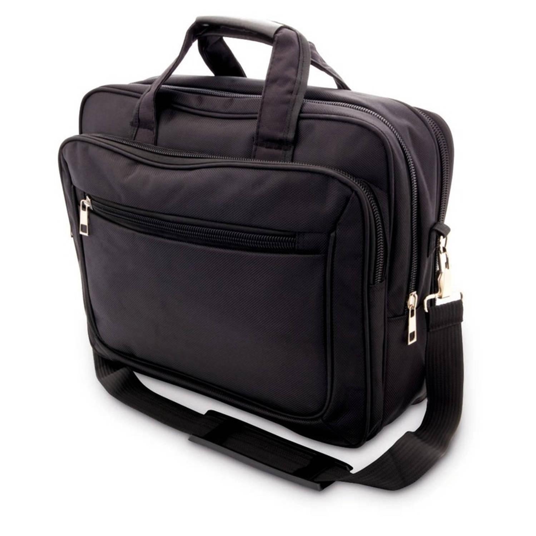 Aktetas-laptoptas 15,6 inch zwart 20 liter Zakelijke schoudertassen