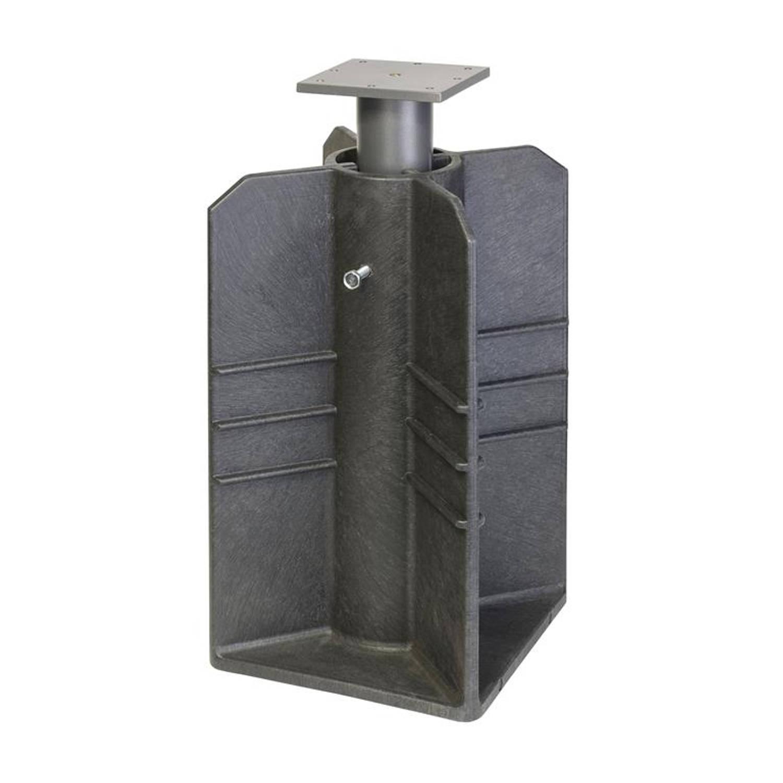 Platinum Ingraaf parasolvoet Zwart