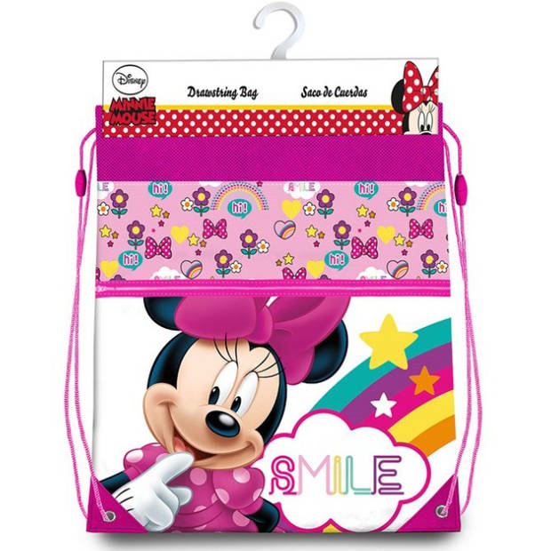 Disney Minnie Mouse Gymbag - 42 x 33 cm - Multi