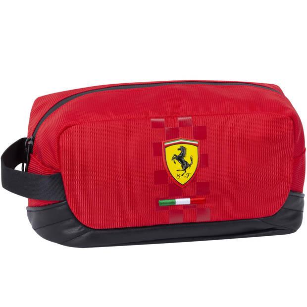Ferrari Toilettas - Rood - 24 x 12 x 11 cm
