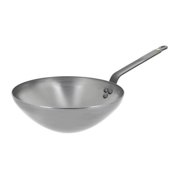 deBuyer - Mineral B wok 28cm - staal