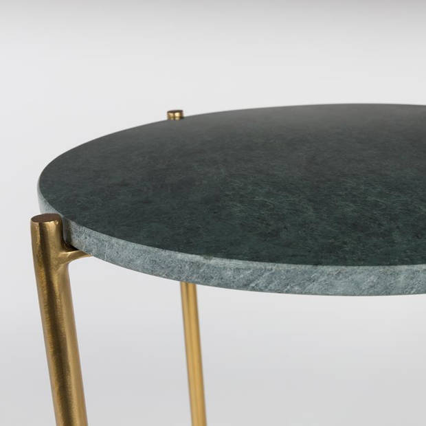 Vestbjerg - side table timpa marble green