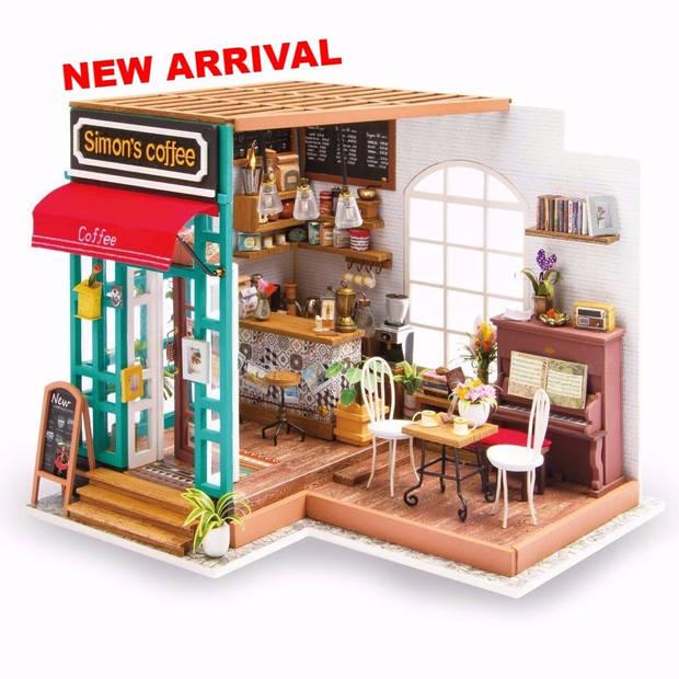 Robotime knutselset Simons café
