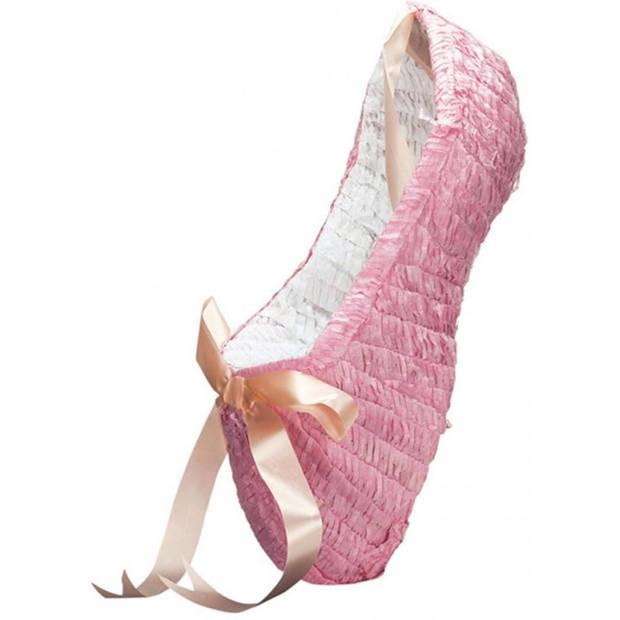 Amscan piñata ballerinaschoen roze 52x21 cm