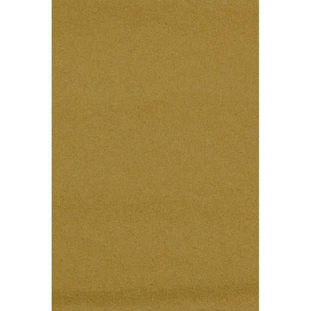 Amscan tafelkleed goud 137 x 274 cm kunststof