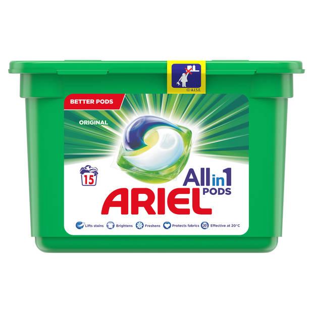 Ariel all-in-1 Pods wasmiddel Original - 15 wasbeurten