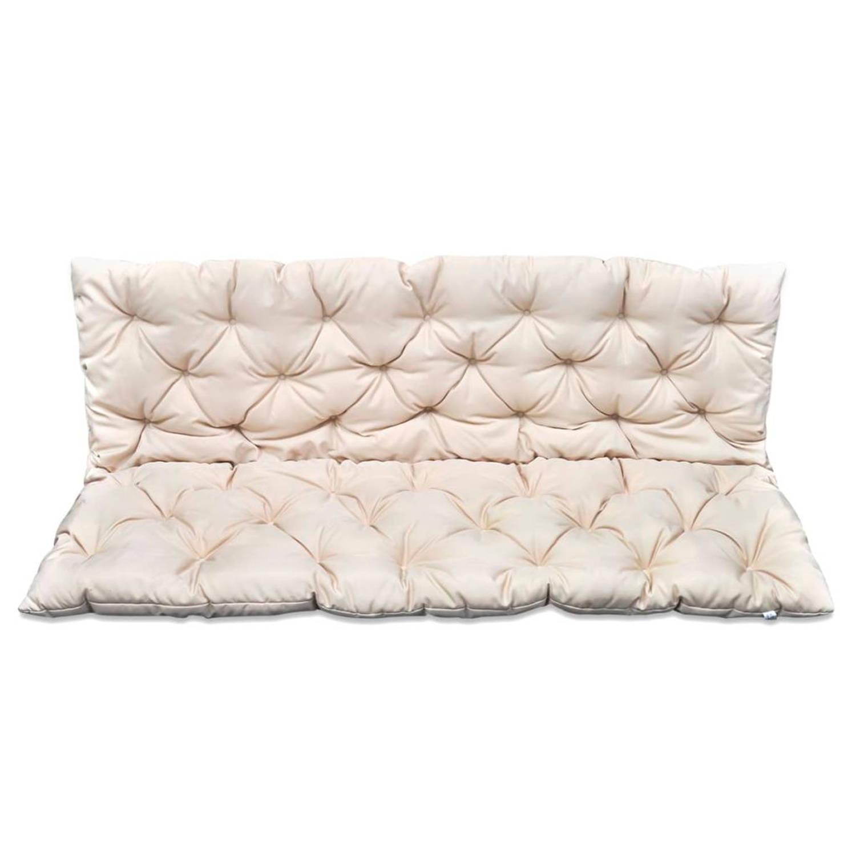 vidaXL Kussen voor schommelstoel crème 150 cm