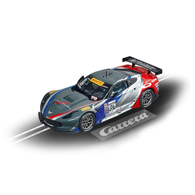 "Carrera DIG124 Chevrolet Corvette C7.R Callaway Competition ""No.26"" - Racebaanauto"