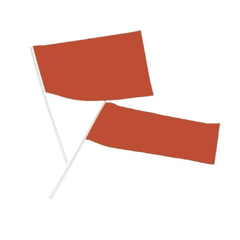 Korting Haza Original Zwaaivlag Papier 20 X 30 Cm Oranje