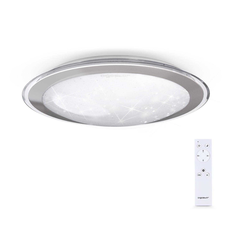 Aigostar LED Plafondlamp met afstandsbediening ceiling lamp warm tot koelwit licht 60W Ø 527 mm