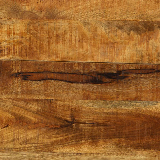 vidaXL Eettafel 140x80x76 cm massief mangohout