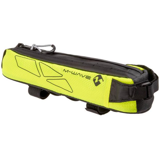 M-Wave frametas Rough Ride top 0,75 liter zwart/geel