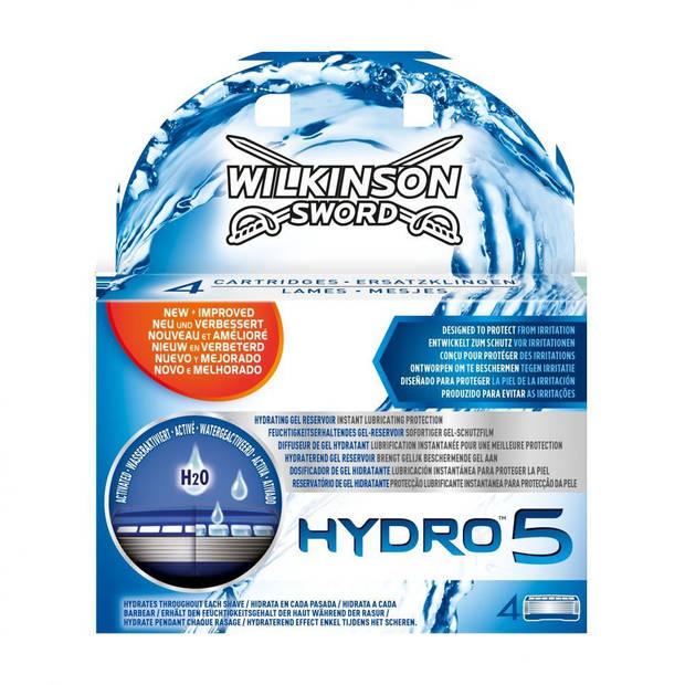 Wilkinson Scheermesjes Hydro 5 - 4 Stuks