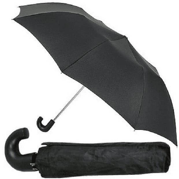 Benson Paraplu Deluxe - Opvouwbaar Windproof Zwart