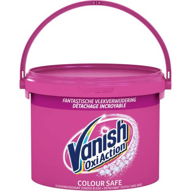 Vanish Oxi Action Vlekkenverwijderaar Kleurwas - 2.4 kg