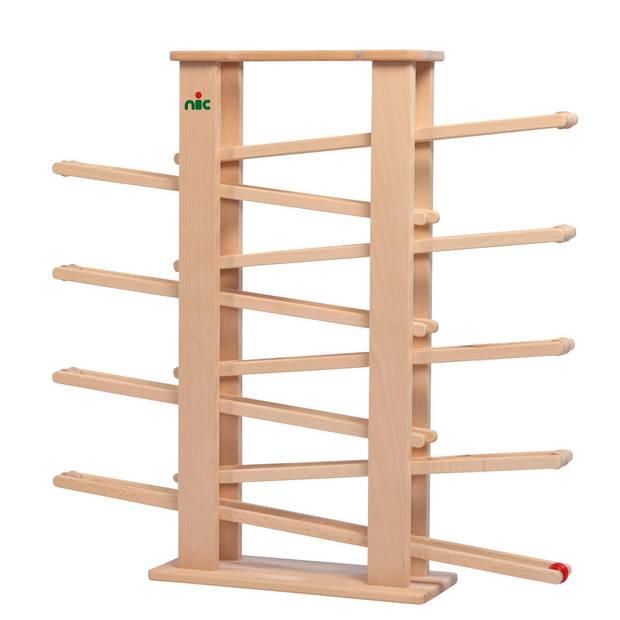 Nic knikkerbaan Multitrack 65 cm blank hout