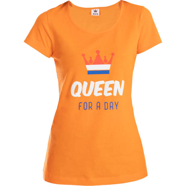 T-shirt queen for a day M-L