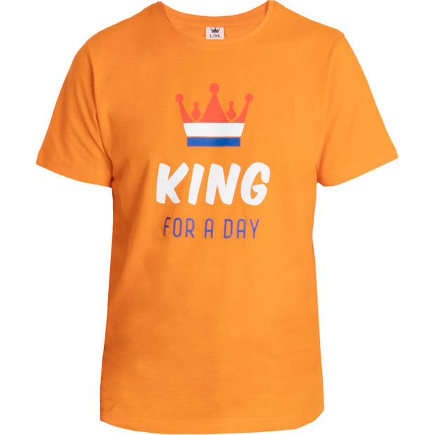 T-shirt king for a day L-XL