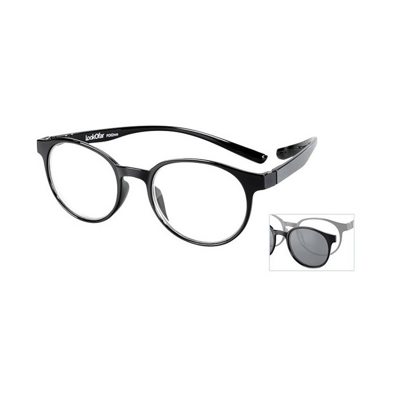 Lookofar Leesbril Le-0190a Miami Zwart