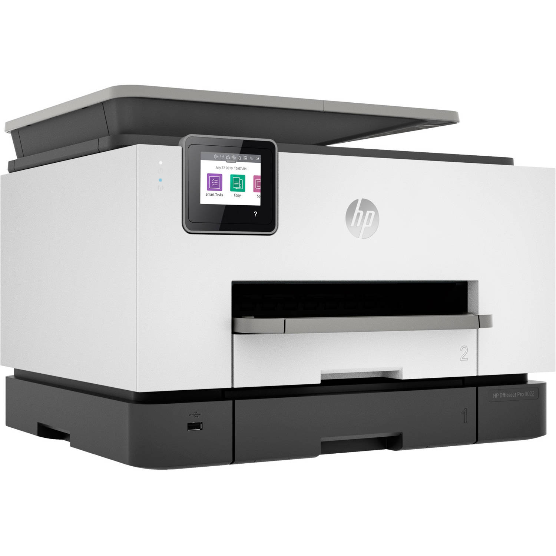 HP Officejet Pro 9022 All-in-One Basalt Multifunctionele inkjetprinter Printen, Scannen, Kopiëren,