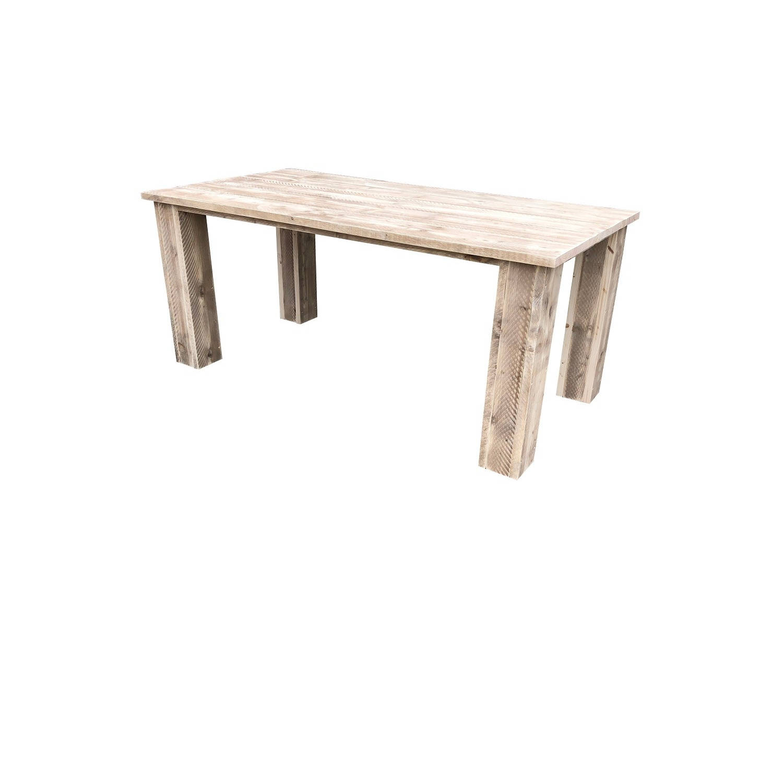 Wood4you - Tuintafel - Texas Steigerhout 220lx78hx90d Cm