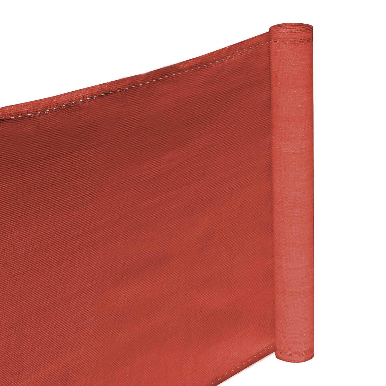 Hanse® Duurzaam Balkonscherm 500x90cm Kleur Terracotta Balkondoek