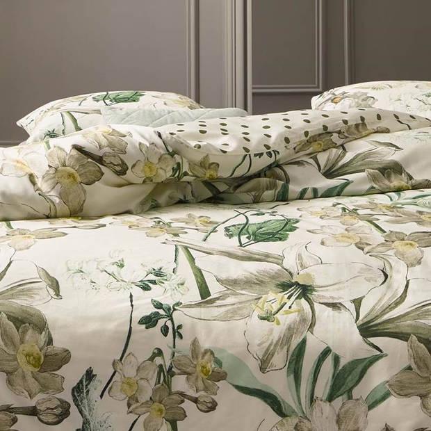 Essenza Rosalee dekbedovertrek - Lits-jumeaux (240x200/220 cm + 2 slopen) - Katoen satijn - Creme