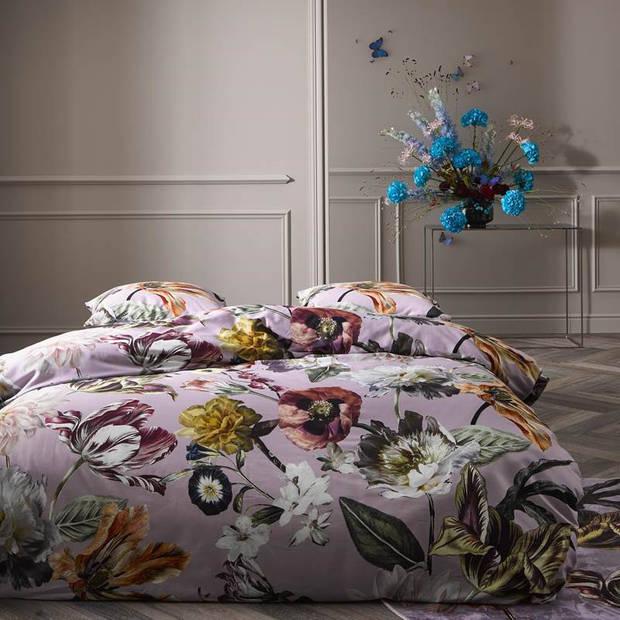 Essenza Filou dekbedovertrek - Lits-jumeaux (240x200/220 cm + 2 slopen) - Katoen satijn - Lila