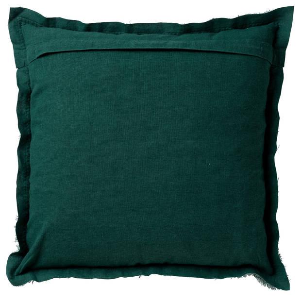 Dutch Decor Kussenhoes Burto 45x45 cm Sagebrush Green