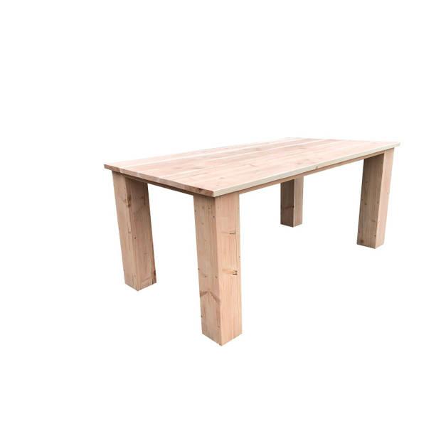 Wood4you - tuintafel Texas Douglas 150Lx78Hx90D cm