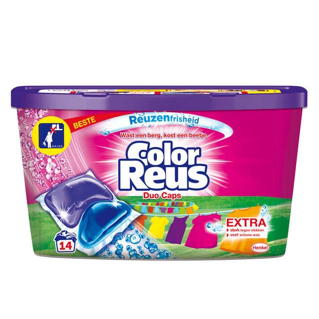 Color Reus Duo Caps - Wasmiddel Capsules - 14 wasbeurten