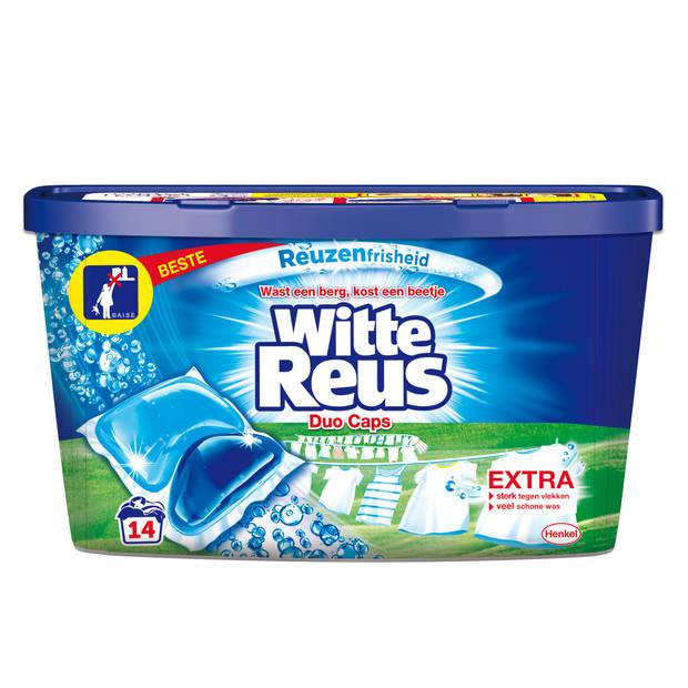 Witte Reus Duo Caps - Wasmiddel Capsules - 14 wasbeurten