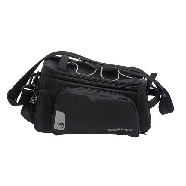 New Looxs fiets-/schoudertas Trunk Bag Racktime 29 liter zwart