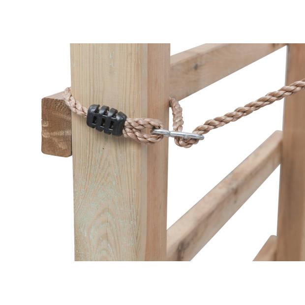 Intergard Houten speeltoestel klimtoren King Kong 240x120x220cm