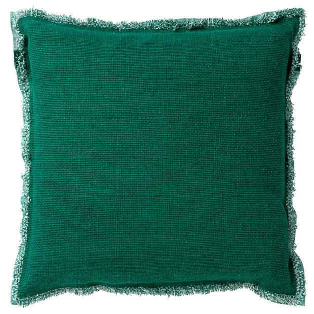 Dutch Decor Kussenhoes Burto 60x60 cm Galapagos Green